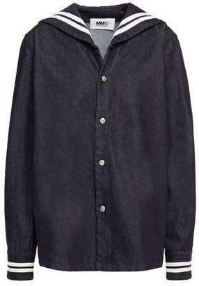 MM6 MAISON MARGIELA Striped Denim Shirt
