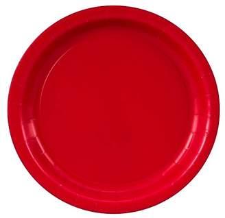 BuySeasons 48ct Red Dinner Plate