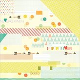 "Simple Stories Summer Vibes Double, Sided Cardstock, 25 Sheets, 12"" by 12"", Sun Kissed"