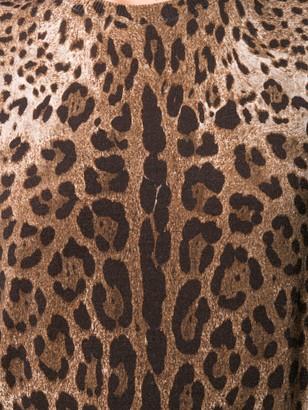 Dolce & Gabbana Leopard Print Tank Top