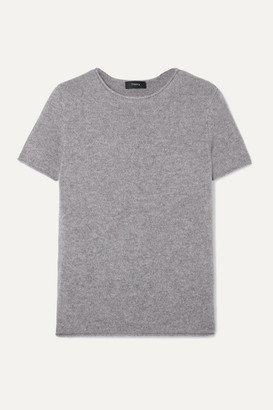 Theory Tolleree Cashmere Top - Gray