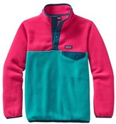 Patagonia 'Synchilla ® Snap-T ® ' Fleece Pullover (Little Girls & Big Girls)