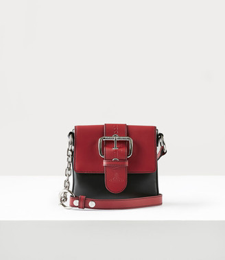 Vivienne Westwood Alexa Small Handbag Black/Red