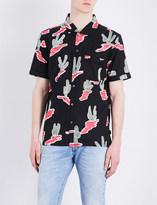Stussy Cactus-print cotton shirt
