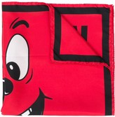 Moschino Pumpkin Face print scarf