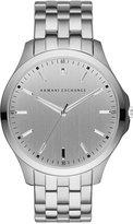 Armani Exchange A|X Men's Diamond Accent Stainless Steel Bracelet Watch 46mm AX2170