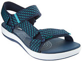 Clarks As Is Cloud Steppers Adjustable Sport Sandals Brizo Cady