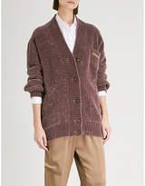 Brunello Cucinelli Ribbed cashmere-blend cardigan