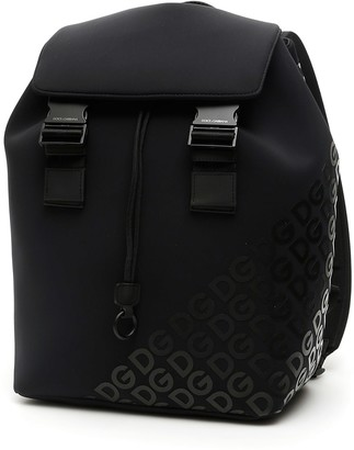 Dolce & Gabbana Millennials Logo Neoprene Backpack