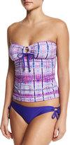Ella Moss Boho Nuevo Bandini Swim Top, Purple