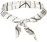 Vince Camuto Women's Pinstripe Triangle Scarf