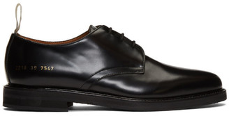 Common Projects Black Standard Lace-Up Derbys