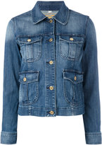 MICHAEL Michael Kors multi pocket denim jacket - women - Cotton/Spandex/Elastane - S