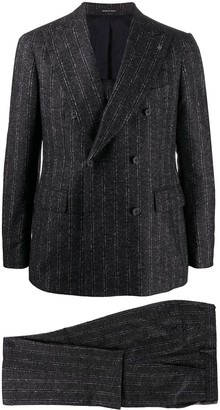 Tagliatore Pinstriped Double-Breasted Suit