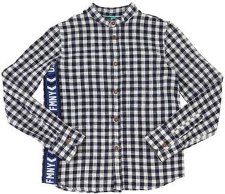 Fred Mello Checked Cotton Shirt