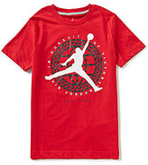 Jordan Big Boys 8-20 In Pursuit Of Short-Sleeve Tee