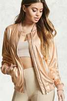 Forever 21 Contemporary Bomber Jacket