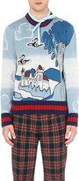 Gucci Castle-knit Wool Jumper