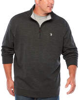 U.S. Polo Assn. Mock Neck Top Big and Tall