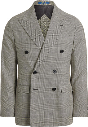 Ralph Lauren Soft Glen Plaid Suit Jacket