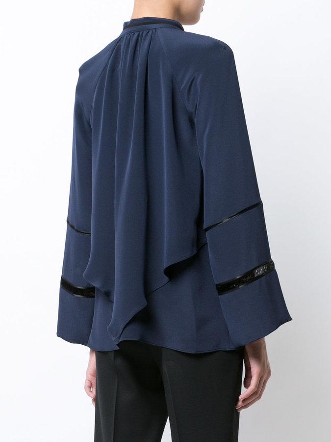 Derek Lam pussy bow fastening blouse