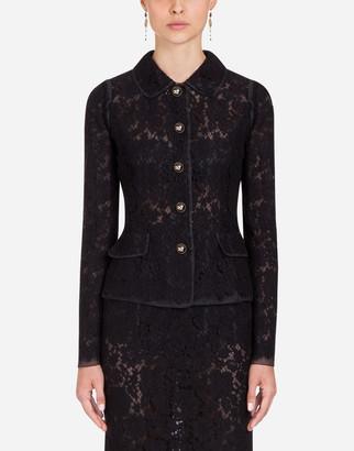 Dolce & Gabbana Lace Blazer