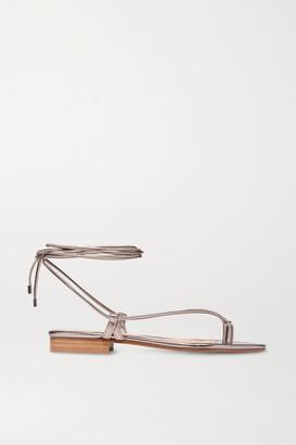 Emme Parsons Ava Metallic Leather Sandals