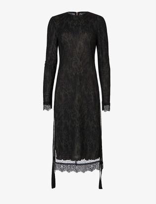 AllSaints Kiara Peace printed midi dress