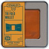 Stanley Tri Fold Leather Wallet, Tan