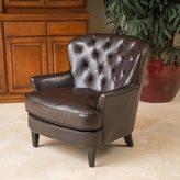 Christopher Knight Home Mya Diamond Tufted Club Chair