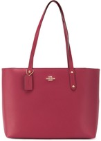 Coach Central pebbled leather tote