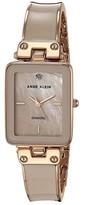 Anne Klein Diamond Dial Watch (Pink/Rose Gold-Tone) Watches