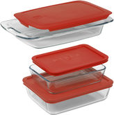Pyrex 6-pc. Easy Grab Bakeware Set