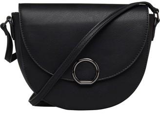 Fluid Womens Saddle Bag Black