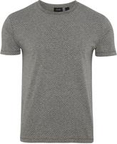 Oxford Max Paisley Print T Shirt Grey X
