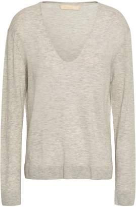 Vanessa Bruno Melange Wool-blend Sweater