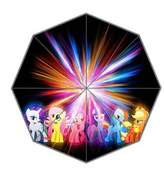 My Little Cartoon Pony Custom Umbrella Outdoor Supply Fashion Portable Foldable Bmbershoot