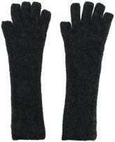 Isabel Benenato knit gloves