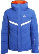 Salomon Stormpulse Ski Jacket Blue Yonder/white