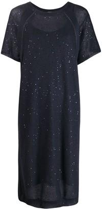 Brunello Cucinelli Knitted Midi Dress