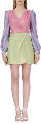 Olivia Rubin Meg Colourblock Mini Dress