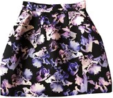 McQ Purple Cotton Skirt for Women