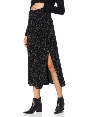 New Look Maternity Women's Spot Split Side Skirt