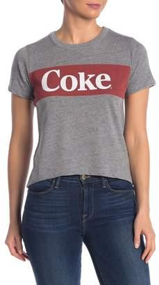 Chaser Knit Cropped Coke T-Shirt