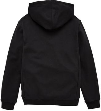 adidas Youth Badge Of Sport Hoodie - Black/White