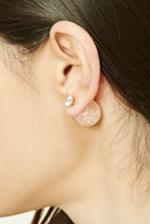 Forever 21 FOREVER 21+ Faux Marble Ear Jackets