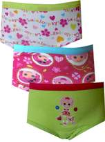 Fruit of the Loom Lalaloopsy 3 Pack Brief Style Panties for girls (2T-3T)