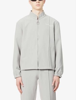 Pieces Uniques La Cle funnel-neck stretch-woven jacket