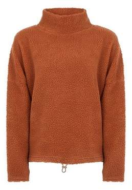 Dorothy Perkins Womens **Only Brown Roll Neck Jumper, Brown