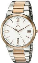 Jivago Men's 'Clarity' Quartz Stainless Steel Casual Watch (Model: JV3514)